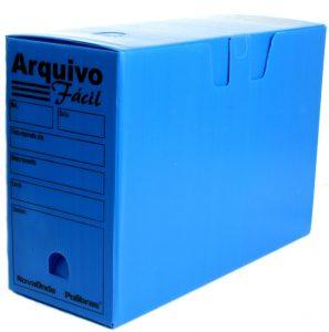 Arquivo morto polionda azul
