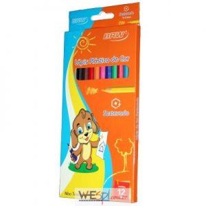 Láapis de cor longo BRW